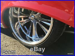 120x10 Foose Knuckle Forged, Custom Wheels Ford Chevy Dodge Buick Olds