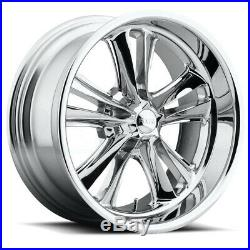 18x8 Chrome Wheels Foose F097 Knuckle 5x114.3 1 (Set of 4)