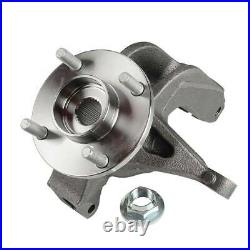 2PCS Wheel Bearing Hub Knuckle Assembly for Ford Focus Front Driver & Passenger