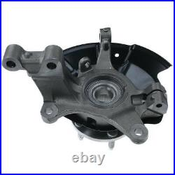 2Pcs Front Wheel Hub Bearing Knuckle Assembly for Ford Edge 2011 2012 2013 2014
