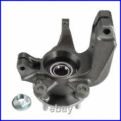2Pcs Wheel Bearing Hub Knuckle Assembly Steel Front for Ford Focus 2006-2011