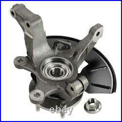 2Pcs Wheel Hub Bearing Steering Knuckle Front Side for Ford Escape Mazda Mercury