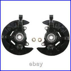 2 Wheel Bearing Hub Knuckle Assembly Front Steel for Toyota Matrix 2003-2008 FWD
