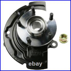 2 Wheel Hub Bearing & Steering Knuckle Assemblies Front L/R For ALTIMA MAXIMA