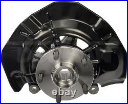 2 Wheel Hub Bearing & Steering Knuckle Assemblies Left & Right For ES350 Camry