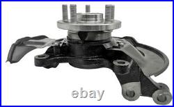 2 Wheel Hub Bearing & Steering Knuckle Assembly Front For Corolla Matrix 09-13