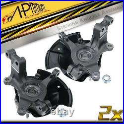 2x Front Left & Right Wheel Hub Bearing Knuckle Assembly for Ford Edge 2007-2010