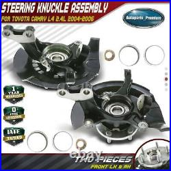 2x Wheel Bearing Hub Knuckle Assembly for Toyota Camry 04-06 Front Left & Right