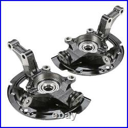 2x Wheel Bearing Hub Steering Knuckle Assy for Nissan Altima 2002-2006 Front