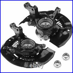 2x Wheel Hub Bearing & Steering Knuckle Assembly for Toyota Sienna 11-17 Front