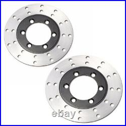 ATV Front Brake Disc Rotor Caliper Steering Knuckle Spindle Wheel 150 200 250cc