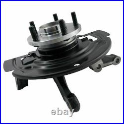 Complete Wheel Hub Bearing & Steering Knuckle Assembly Pair for Maxima Altima