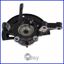Complete Wheel Hub Bearing & Steering Knuckle Assembly Pair for Nissan Altima