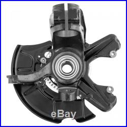 Complete Wheel Hub Bearing & Steering Knuckle Assembly Pair for Volkswagen New
