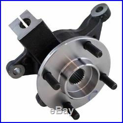 Complete Wheel Hub Bearing & Steering Knuckle Assembly RH for 06-11 Ford Focus