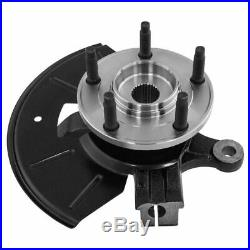 Complete Wheel Hub Bearing & Steering Knuckle Assembly RH for Ford Mazda SUV New