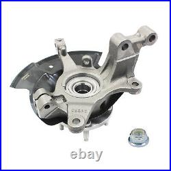Front Left Driver Wheel Hub Bearing & Knuckle Assembly For 2011-2014 Ford Edge
