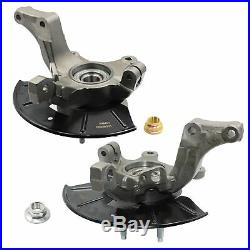 Front Left + Right Loaded Steering Knuckle For 2005-2012 Ford Mazda Mercury