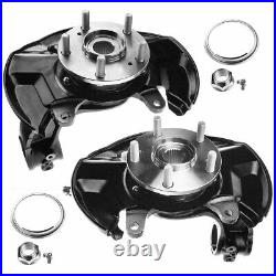Front Left & Right Wheel Bearing Hub Knuckle Assembly for Honda Accord 2013-2016