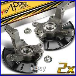 Front Left & Right Wheel Hub Bearing & Knuckle Kit for Ford Escape Mazda Mercury