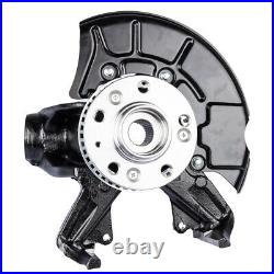 Front Left Steering Knuckle Wheel Hub Assembly for Volkswagen Beetle Golf Jetta