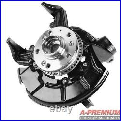 Front Left Wheel Bearing Hub & Knuckle Assembly for VW Beetle 98-10 Golf Jetta