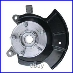Front Left Wheel Hub Bearing Knuckle Assembly for Ford Edge 2011 2012 2013 2014
