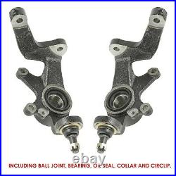 Front Left and Right Wheel Knuckle fits Yamaha Rhino 700 YXR700F 4x4 2008 2013