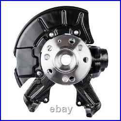 Front Right Steering Knuckle Wheel Hub Assembly for Volkswagen Beetle Golf Jetta