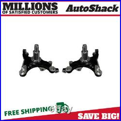 Front Steering Knuckle Spindle Pair 2 for 2005-2009 Ford Mustang 4.0L 4.6L 5.4L