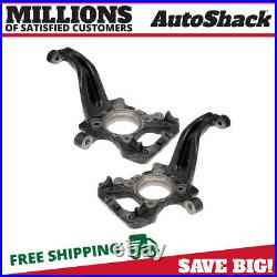 Front Steering Knuckle Spindle Pair 2 for Lincoln Mark LT 2004-2008 Ford F-150