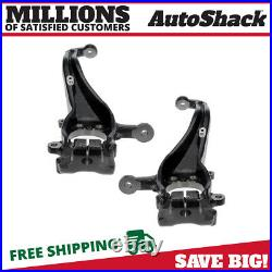Front Steering Knuckle Spindle Pair 2 for Nissan Frontier Pathfinder Xterra 4.0L