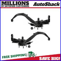 Front Steering Knuckle with bearing Pair for 2007-2012 MKZ 2006-2012 Fusion