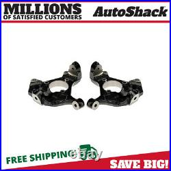 Front Steering Knuckle without bearing Pair for 2007-2014 Sierra Silverado 1500