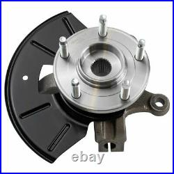 Front Wheel Bearing & Hub Assembly with Knuckle Pair for Ford Mercury Mazda