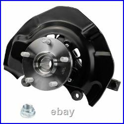 Front Wheel Bearing & Hub Assembly with Knuckle Pair for Toyota Sienna AWD