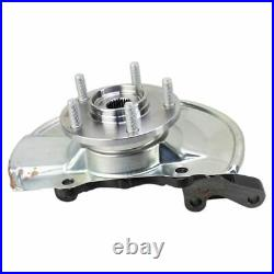 Front Wheel Bearing & Hub Assembly with Knuckle RH for Dodge Jeep New