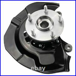 Front Wheel Bearing & Hub Assembly with Knuckle RH for Toyota Sienna AWD