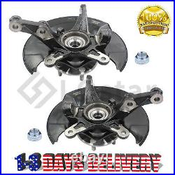 Front Wheel Hub Bearing & Steering Knuckle Assembly For 2006-2011 Honda Civic