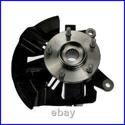 Front Wheel Hub Bearing & Steering Knuckle Assembly Pair 2 for Mazda CX-9 CX-7