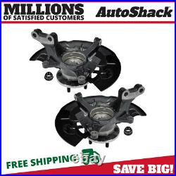 Front Wheel Hub Bearing & Steering Knuckle Assembly Pair 2 for Toyota Avalon V6