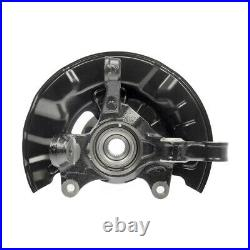 Front Wheel Hub Bearing & Steering Knuckle Assembly Pair 2 for Toyota Corolla
