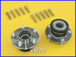 Front Wheel Non-ABS 5-Lug Conversion Hub With Extended Studs For Silvia 95-98 S14