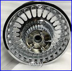 Harley 28 Spoke Chrome Wheels 2009 -19 Touring Electra Glide Knuckle (outright)
