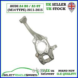 New Audi A4 B8 / A5 8t Drivers Front Right Wheel Hub Steering Knuckle (m14 Type)