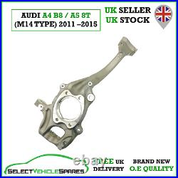 New Audi A4 B8/a5 8t Passenger Front Left Wheel Hub Steering Knuckle (m14 Type)