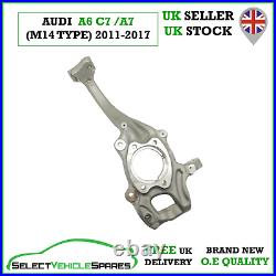 New Audi A6 C7 / A7 4g Drivers Front Right Wheel Hub Steering Knuckle 2011-2017