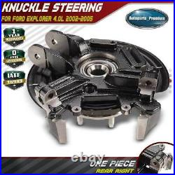 Rear Right Wheel Hub Bearing Knuckle Assemby for Ford Explorer 2002-2005 4.0L