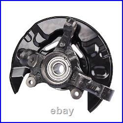 Replacement Front Left Hub Driver Steering Knuckle For 2003-2008 Toyota Corolla