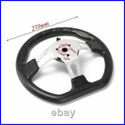 Steering Wheel Assembly & Gear Rack Pinion & Steering Knuckle Fit Go Kart Quad